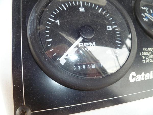 Tach and Hour Meter 201 Hours