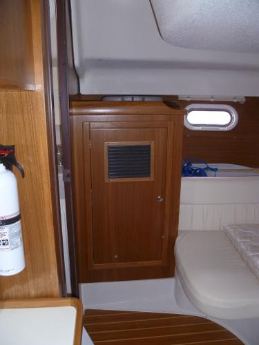 Storage in Owners Stateroom