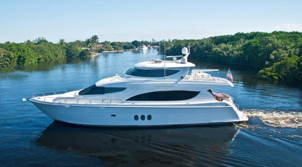 Hatteras Skylounge Motoryacht Profile