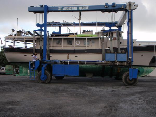 In the Boat yard