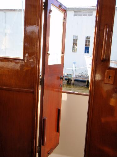 Pilot House Door to Side Deck