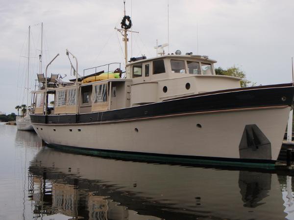 Camden Boat Works Dory Yacht Trawler