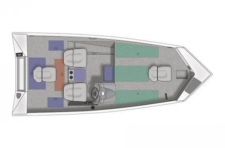 Crestliner VT 18 w/ 90 HP Mercury 4 stroke