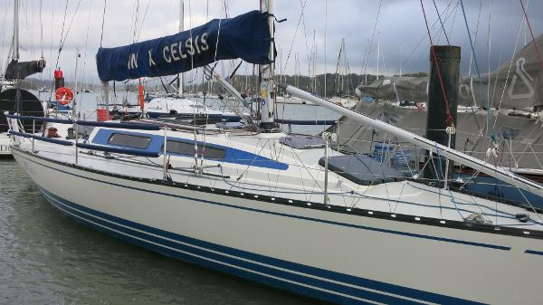 X-Yachts 119 Moored