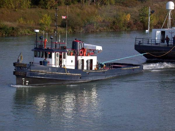 Tugboat Russel Bros 1000 hp