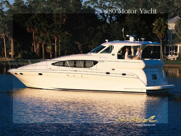 Sea Ray 480 Motor  Yacht Manufacturer Provided Image: 480 Motor Yacht