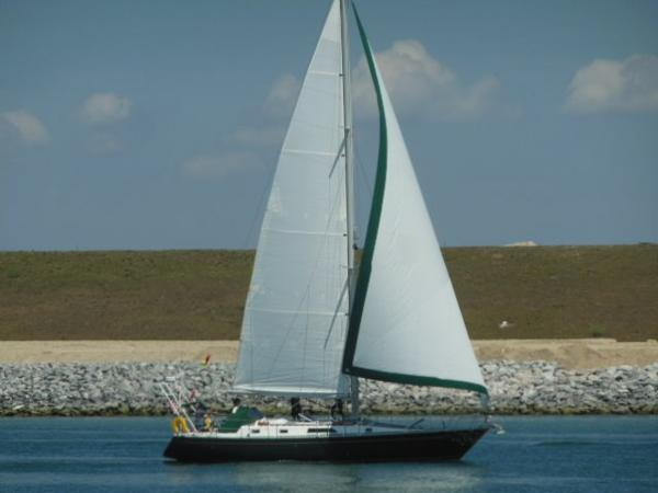 Nordic Yachts 44 Cutter OFF SOUNDING Under Sail