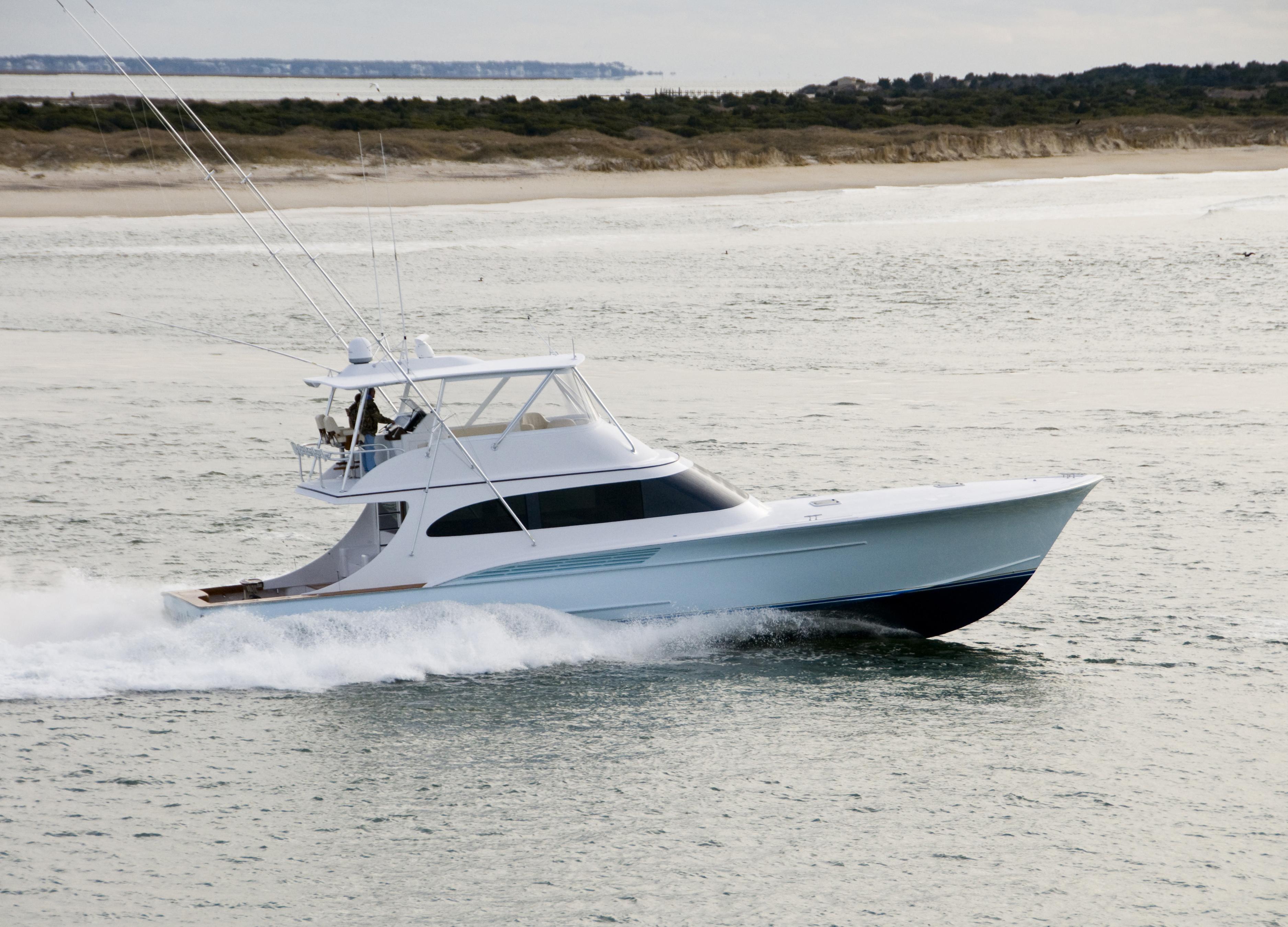 Jarrett Bay 64 Custom Carolina Convertible 64 JBBW