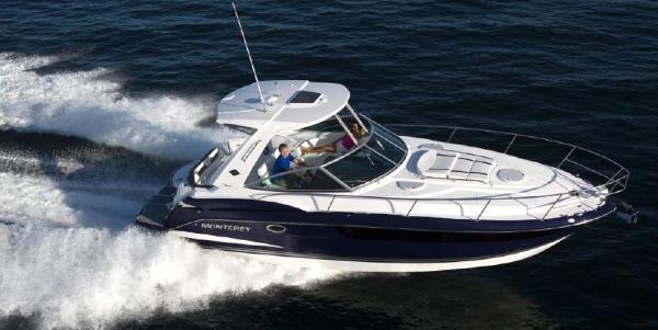 Monterey 355 Sport Yacht Hardtop