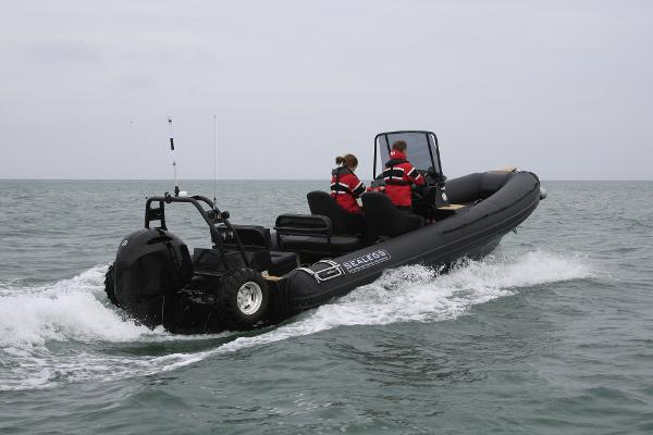 Sealegs 7.7M Console Amphibious Rib Sealegs 7.7 Amphibious Rib