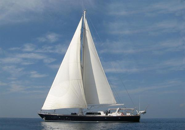 CUSTOM BUILT 118` Under Sail