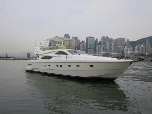 Ferretti Yachts 57 Profile