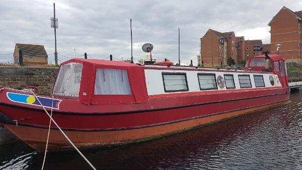 Narrowboat 45 foot