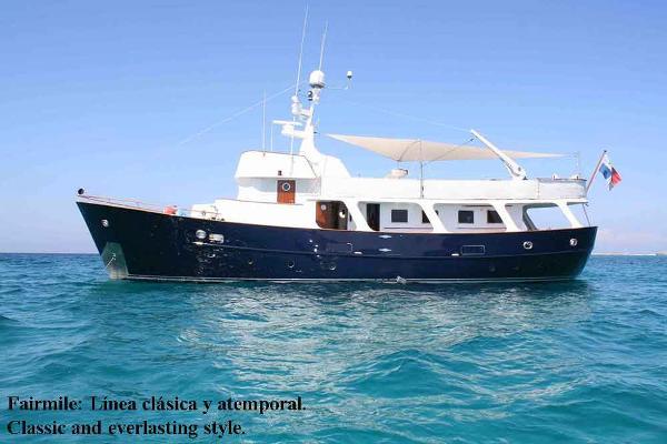 Fairmile Berwick Classic Motor Yacht