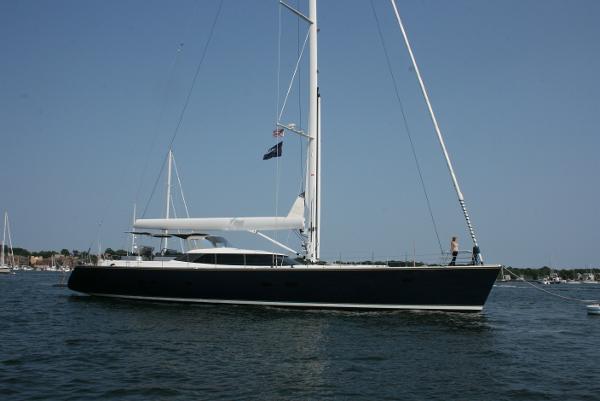 Alia Yachts Custom Warwick Sloop Profile