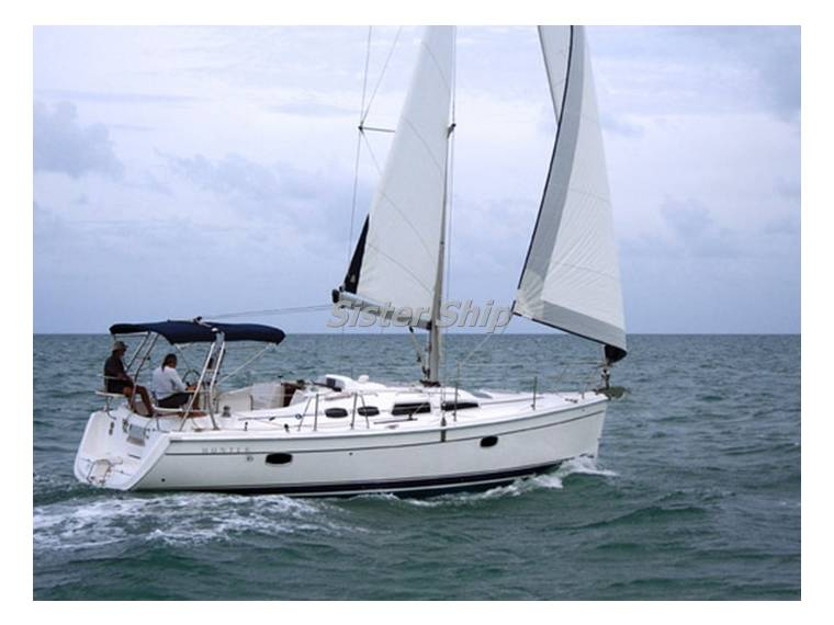 Hunter HUNTER  MARINE  USA HUNTER 36  sloop