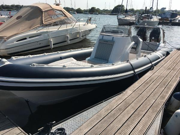 Cobra Ribs Nautique 8.2m Manufacturer Provided Image: Cobra Ribs Nautique 8.2m