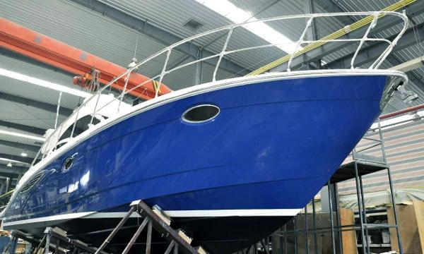 New Motor Yacht - SANJ V45 - (2nd Build) New Motor Yacht - SANJ V45 - (2nd Build) - On her cradle