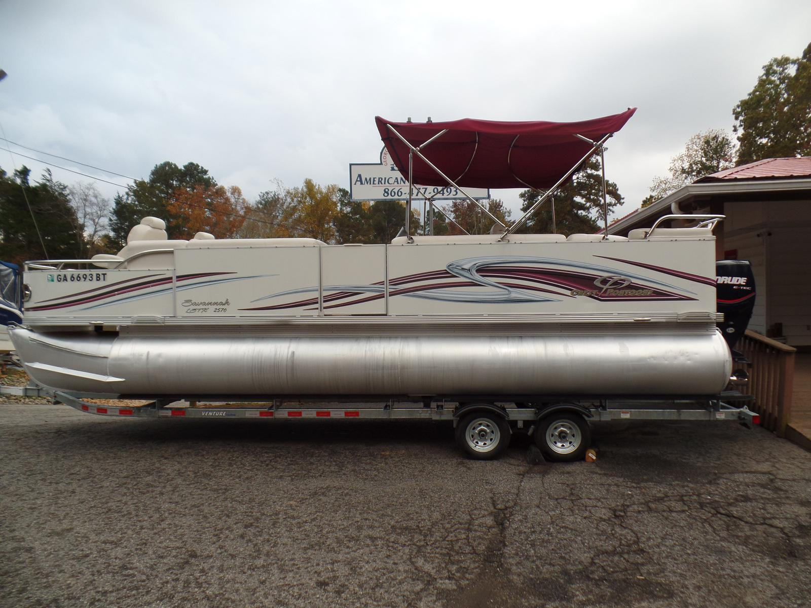 Crest Pontoon Boats Savannah 25