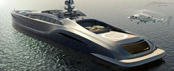 Custom Giga Yacht Sovereign The Sovereign