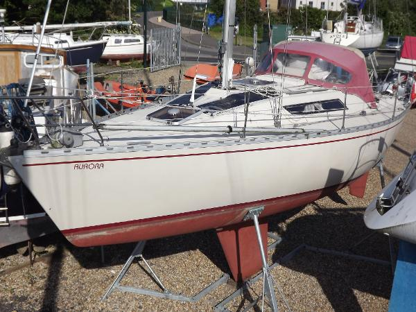 Beneteau First 32 (lowered)