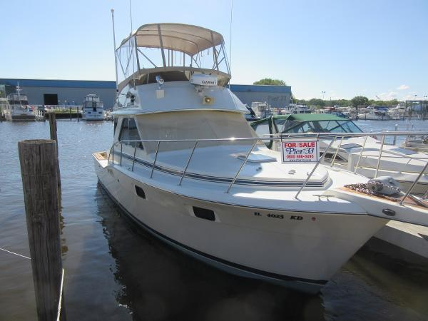 Chris-Craft 360 Commander DOCKSIDE PROFILE