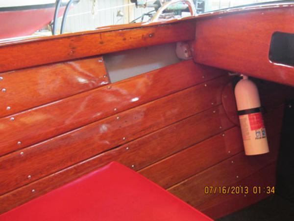 Interior Starboard Side