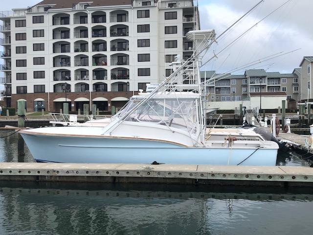 Jarrett Bay Express Port Profile View #2