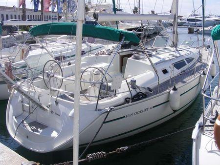 2002 Jeanneau Sun Odyssey 40 Prov Barcelona Spain Boats Com