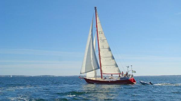 Custom Steel 52ft Cutter Rigged Yacht