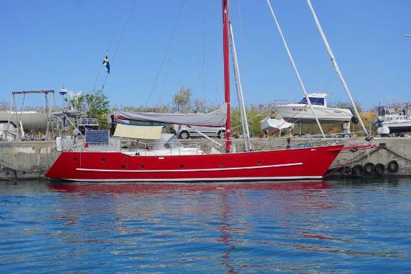 Custom Steel 52ft Cutter Rigged Yacht Custom Steel 52ft Cutter Rigged Yacht