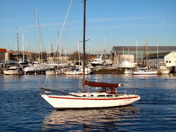 Ericson Sloop Port Broadside