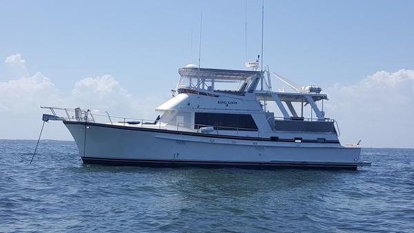 Sea Ranger 52 Cockpit motor yacht