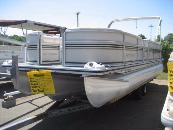 Harris Flotebote 240 Sunliner Tri-Toon