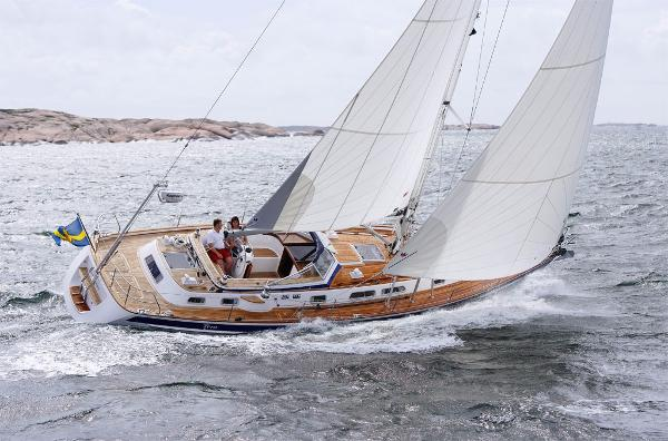 Hallberg-Rassy HR 43 MK II Sister Ship - Sailing