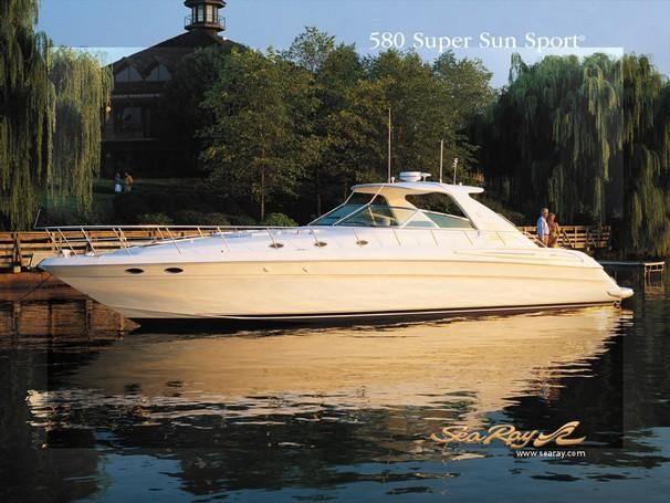 Sea Ray 580 Super Sun Sport Manufacturer Provided Image: 580 Super Sun Sport