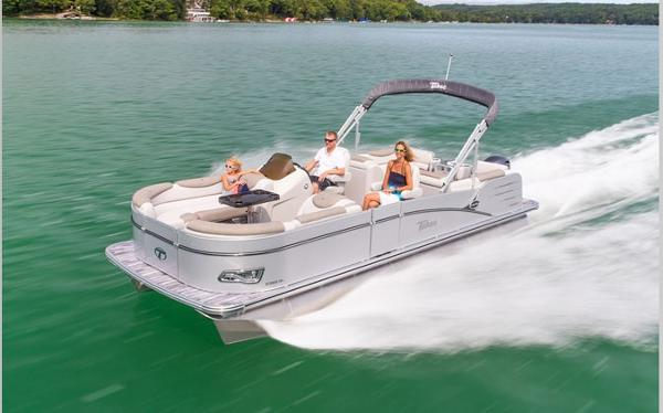 Tahoe Pontoon 2385 Cascade Quad Lounger