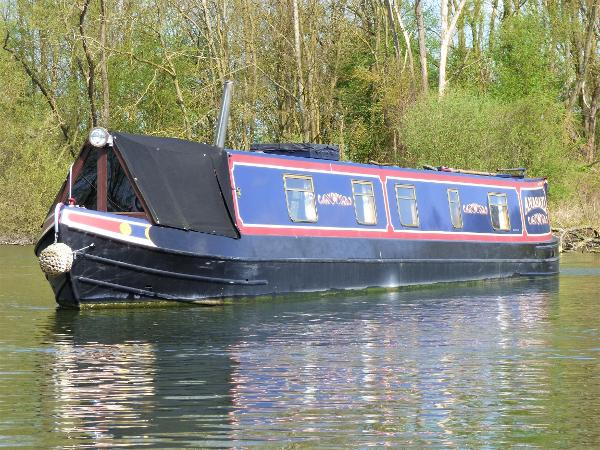Narrowboat 55' Trad Stern by Cuttwater