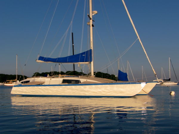 Custom Simpson Liahona trimaran Photo 1