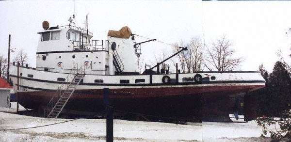 Tug Boat Russell Brothers