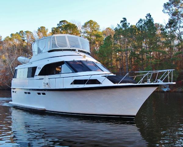 Ocean Yachts 53 Motor Yacht SEAWARD