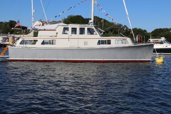 Willard Marine Trawler Yacht Conversion