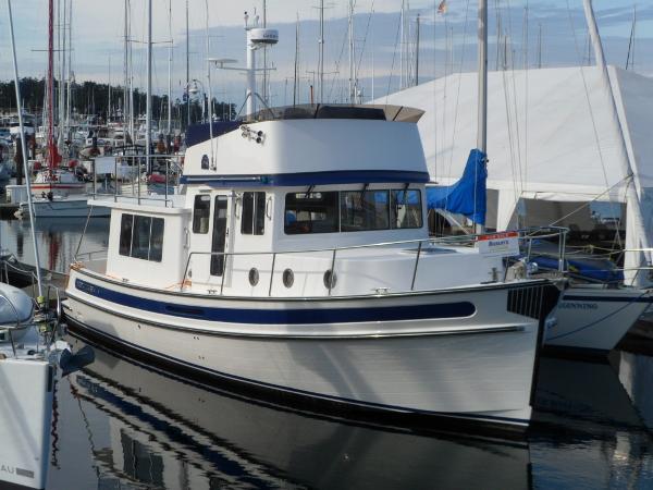 Nordic Tug 39 dockside