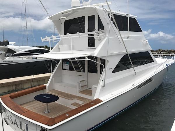 Viking 58 Enclosed Bridge/Painted/Mezzanine