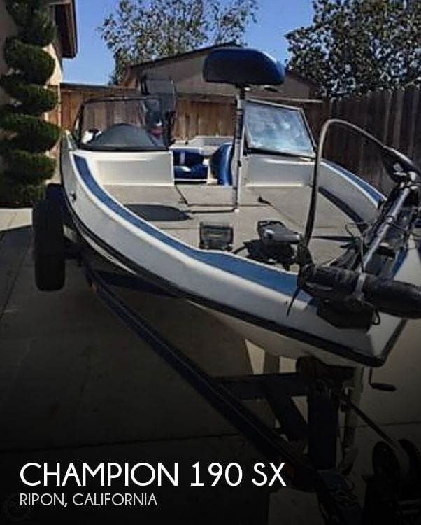 Champion Boats 190 Sx 2000 Champion 190 SX for sale in Ripon, CA