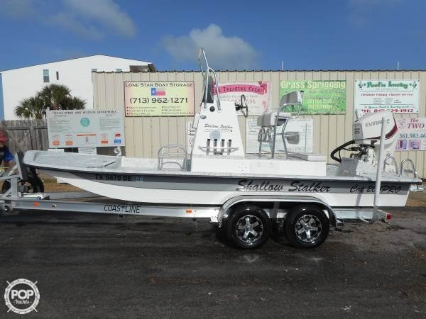Shallow Stalker Cat Pro 204 2016 Shallow Stalker CAT PRO 204 for sale in Port O'connor, TX