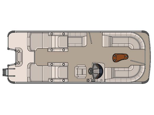 Avalon 23 ft. Catalina Rear Lounge
