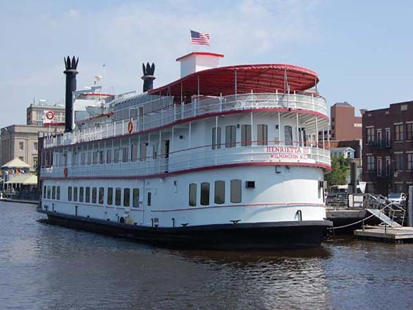 Custom  Serodino Dinner Boat Profile