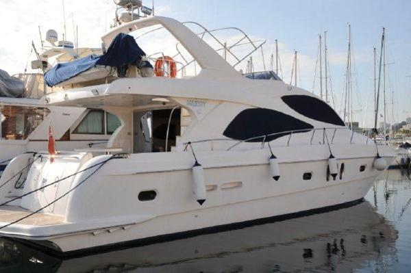 Gulf Craft Majesty Starboard Profile