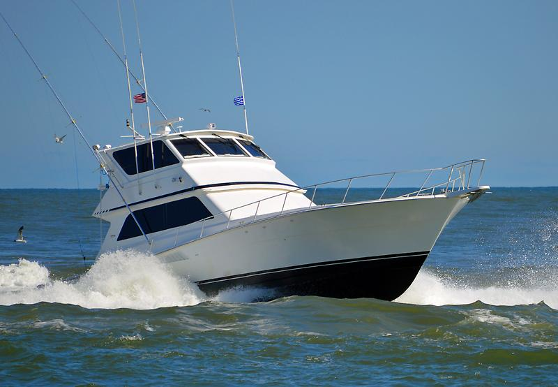 Viking 58 Enclosed Bridge Convertible